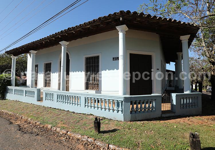 Architecture de la ville de Piribebuy, Paraguay