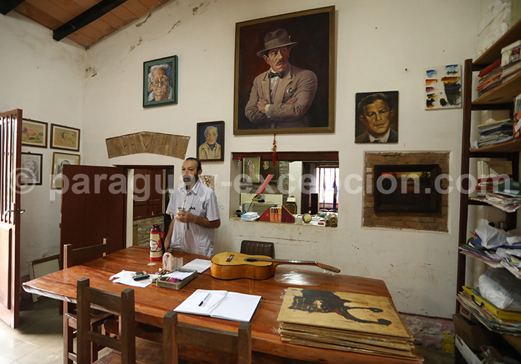 Musée de San Juan Bautista, Agustin Barrios, Paraguay