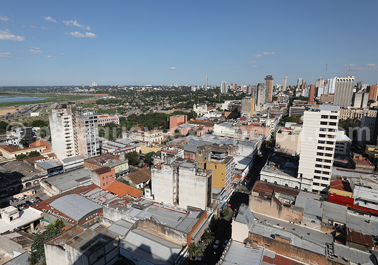 Le centre historique d'Asuncion du Paraguay