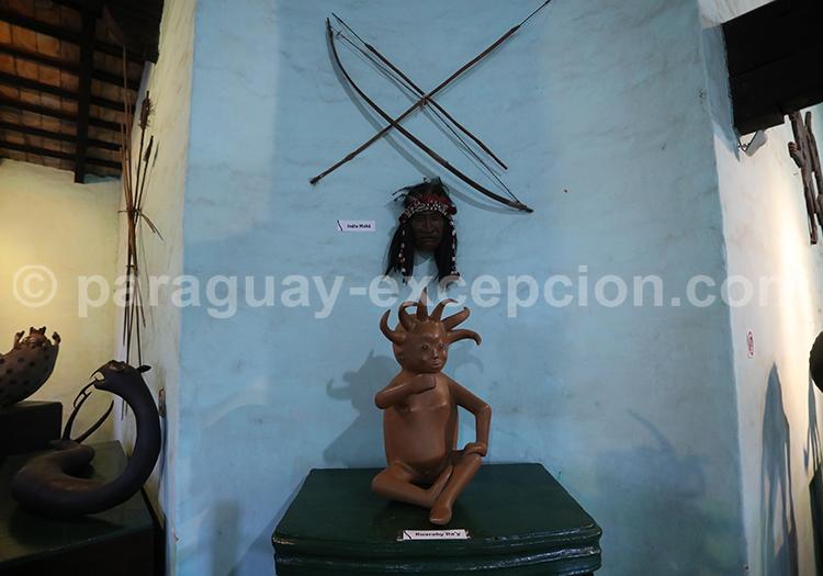 Mythologie Guaraní Musée de Capiatá, Paraguay