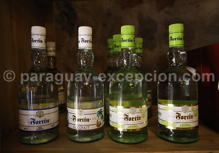 Bouteilles de rhum Fortin, Paraguay