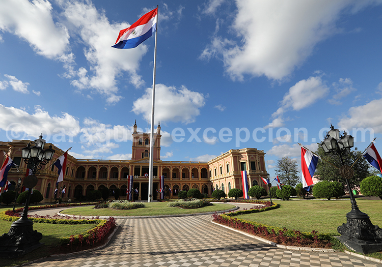 Palais présidentiel, Palacio López, Asunción, Paraguay