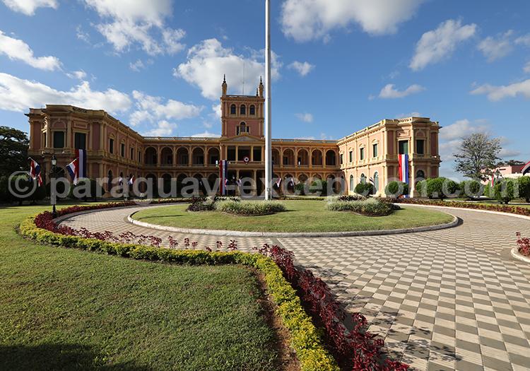 Palacio López, le palais présidentiel du Paraguay