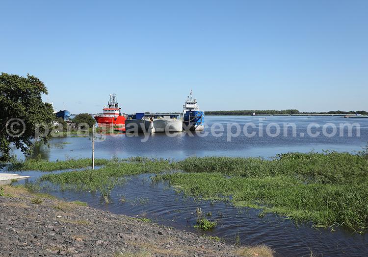 Rio Paraguay, Costanera Asuncion, Paraguay