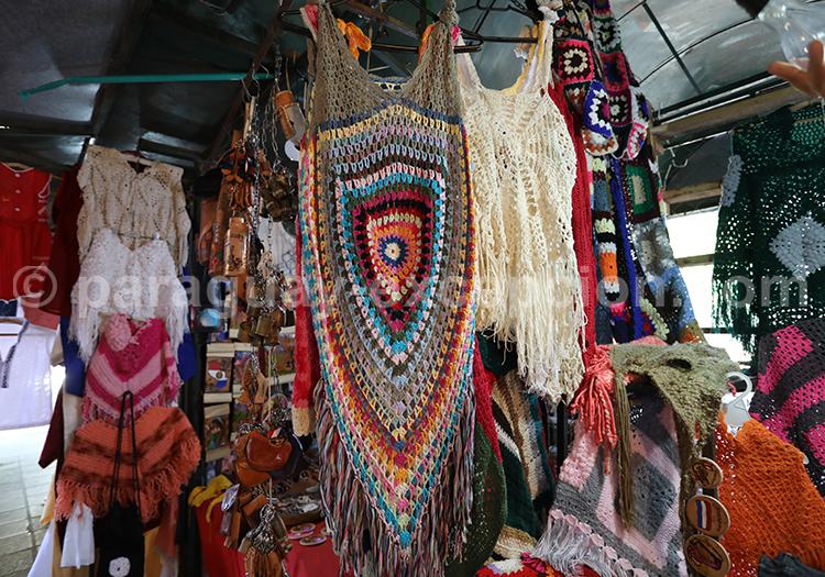 Tissage du Paraguay : le crochet