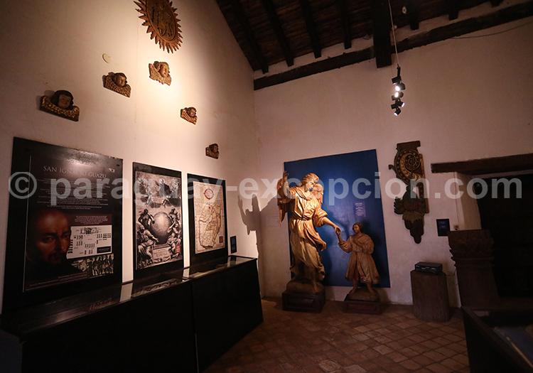 Art jésuite, musée San Ignacio Guazú, Paraguay