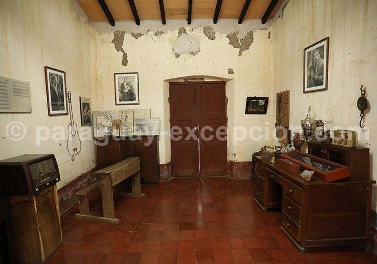 Visiter le musée Agustin Barrios, San Juan Bautista, Paraguay
