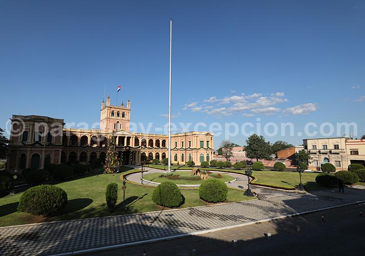 Palacio López, monument emblématique du Paraguay