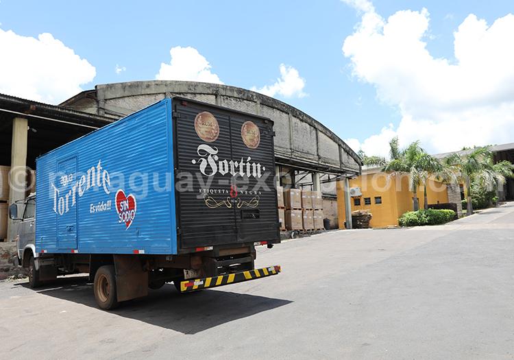 Production du rhum Fortin, Cordillera, Paraguay