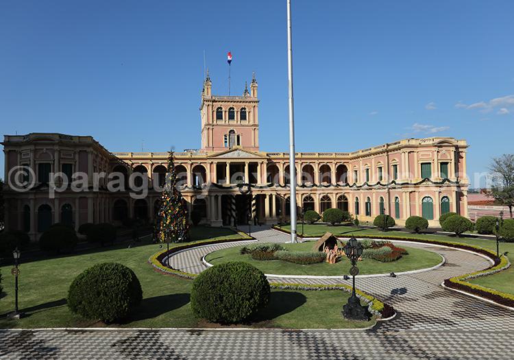 Le palais López, résidence du Président, Paraguay