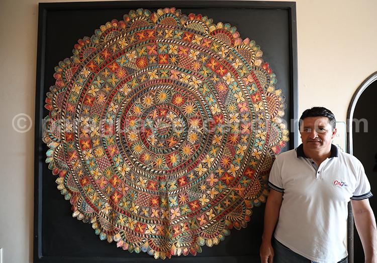 Ñanduti, grand tissu du Paraguay