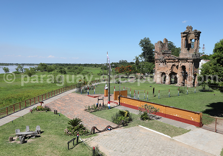 Église de San Carlos Borrromeo, Yvy, Paraguay