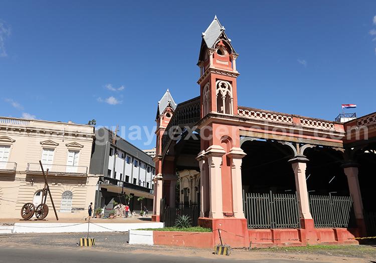 Ancienne gare férroviaire Asuncion