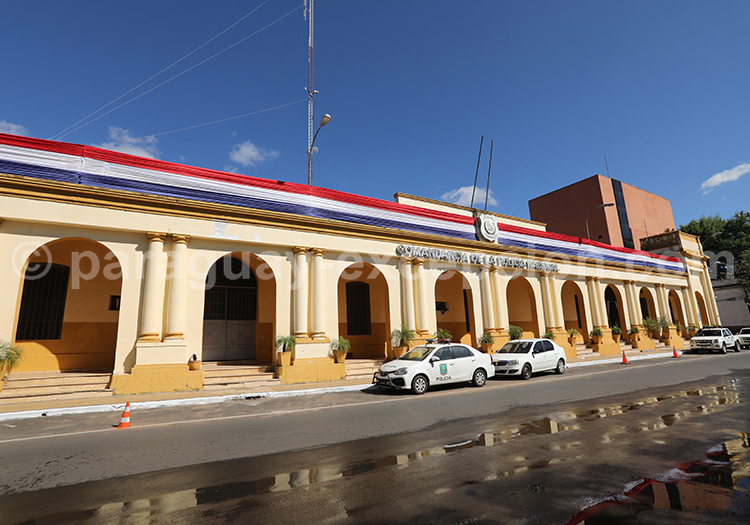 Candement de la Police Nationale du Paraguay