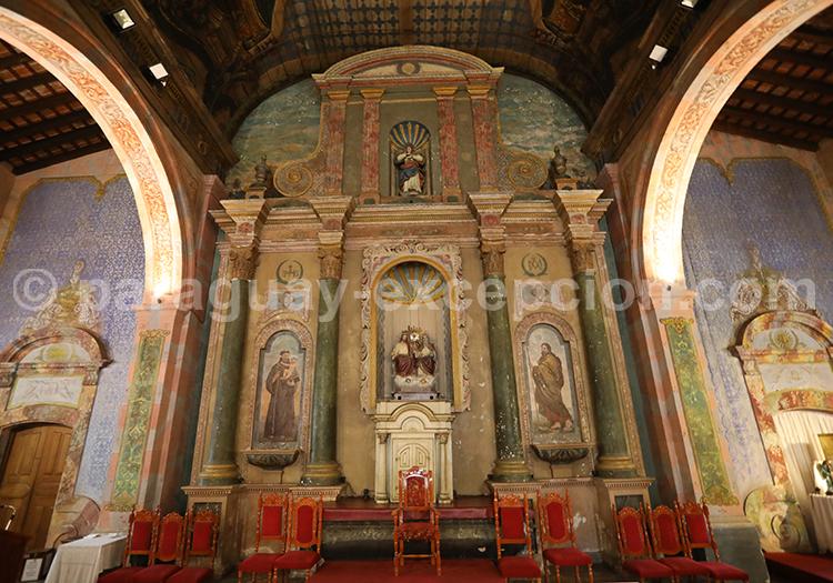 Visite guidée de l'église de la Santísima Trinidad