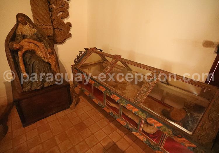 Le musée de Santiago, art Jésuite, Paraguay