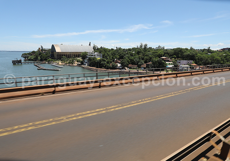 Arrivée sur le territoire paraguayen, Encarnación, Misiones, Paraguay