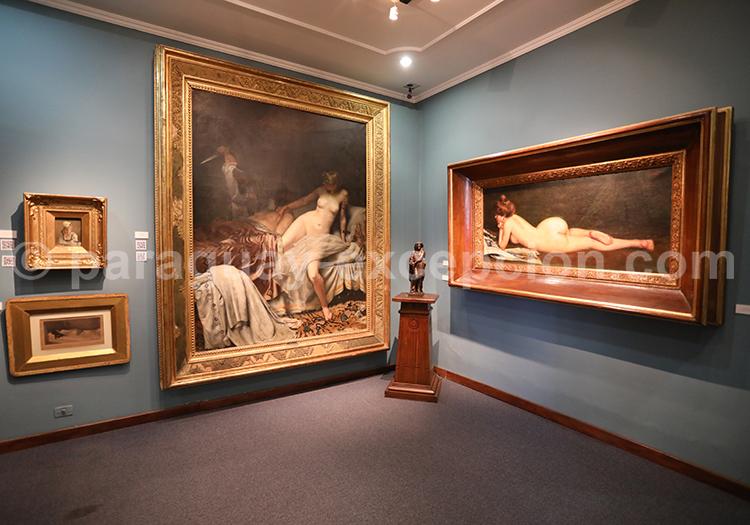 Musée des Beaux Arts d'Asuncion, fermé le dimanche