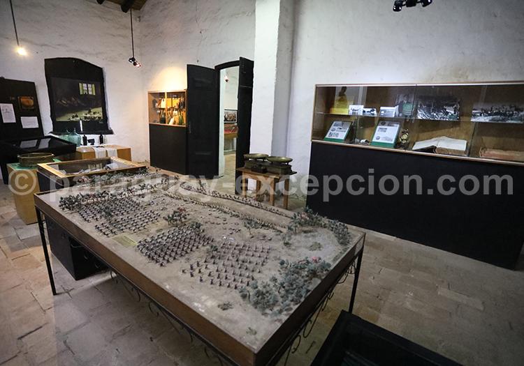 Maquette au musée d'Humaita, Yvy, Paraguay