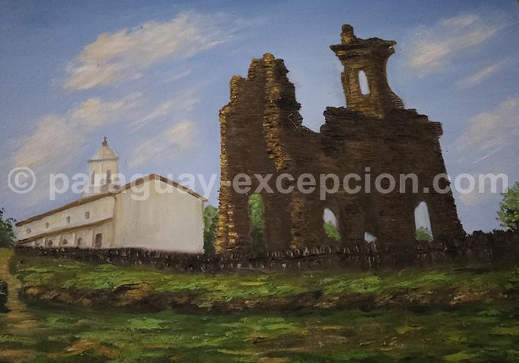 Visiter les ruines de l'église San carlos Borromeo, Paraguay