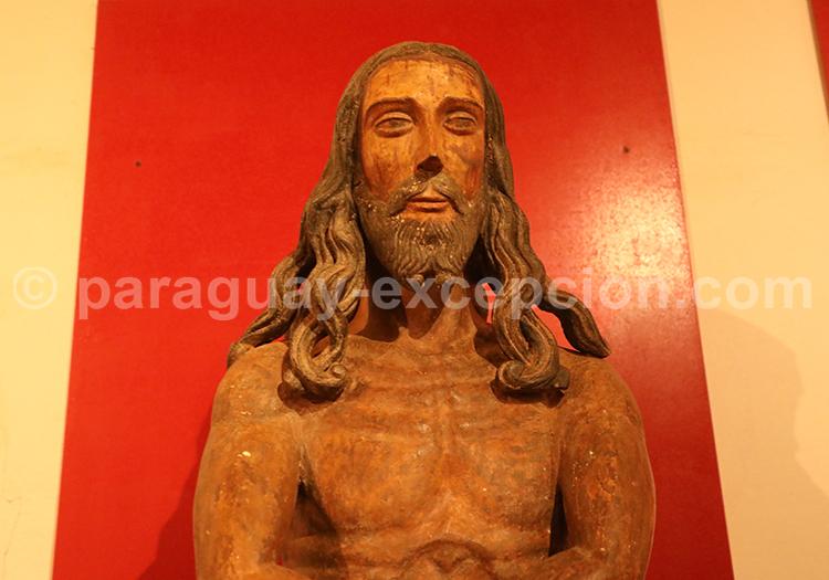 Visite du musée de Santa Maria de Fe, art religieux, Paraguay