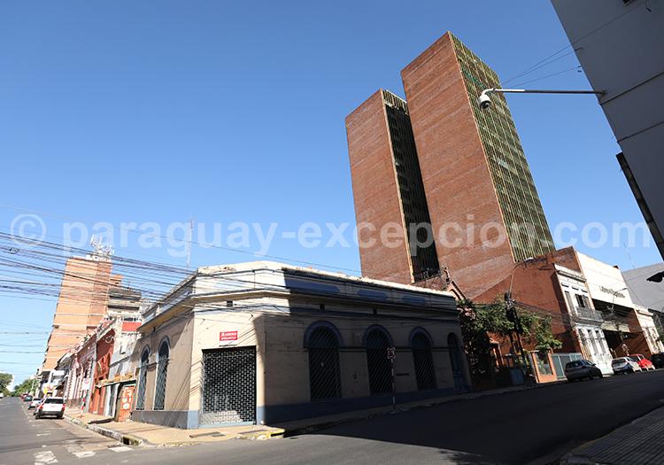 Architecture d'Asunción, Paraguay