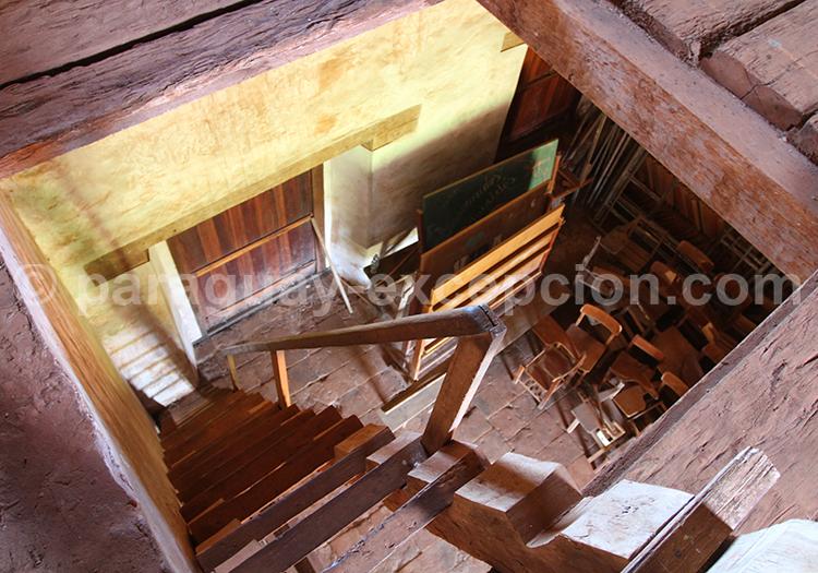 Construiction des missions jésuites au Paraguay