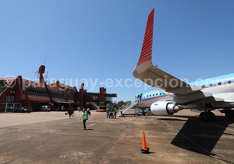 Arrivée à Posadas en Argentine pour aller au Paraguay