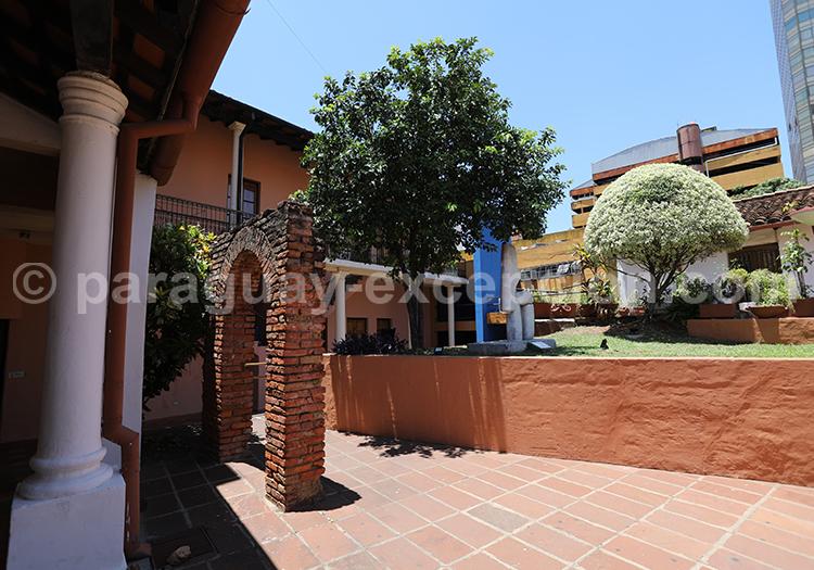 Casa Viola, maison coloniale de la ville d'Asunción au Paraguay