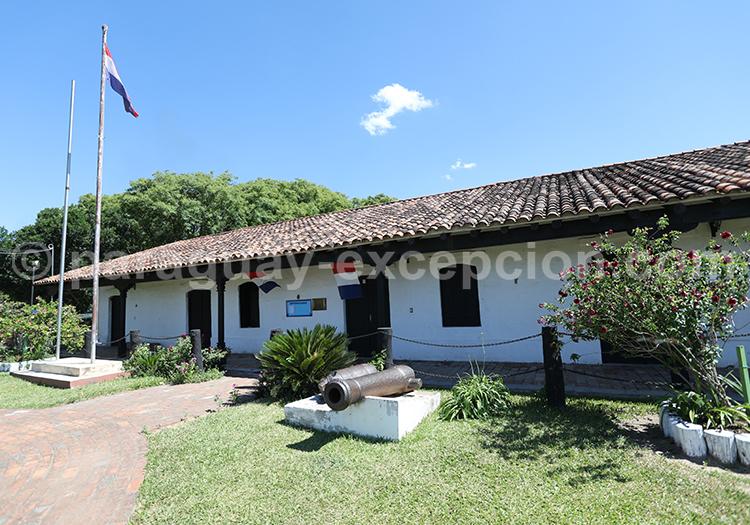 Le musée d'Humaita, maison coloniale de la région Yvy au Paraguay