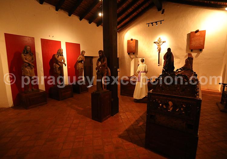 Visite du musée de la ville de Santa Maria de Fe, Paraguay