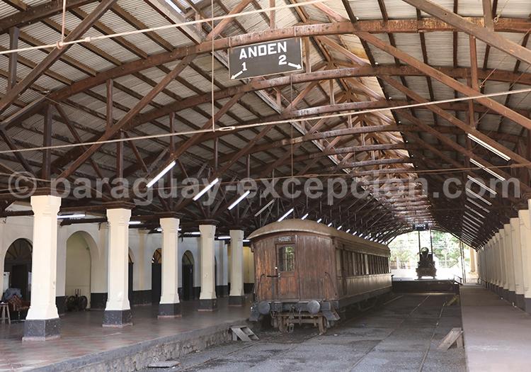 Ancienne station férroviaire Asuncion