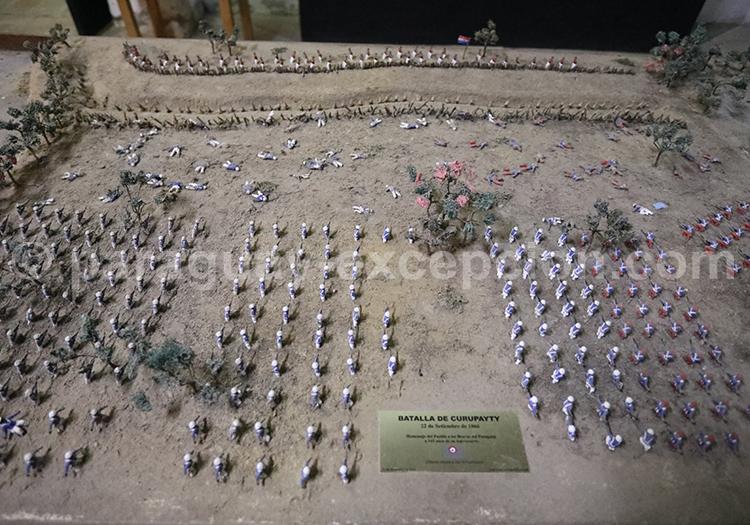 Bataille de Curupayty 1866, Paraguay