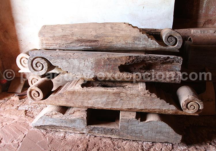 Ruines du Paraguay du Paraguay, traces des jésuites