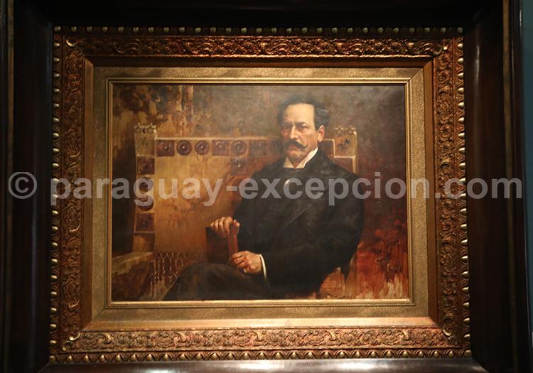 Teofilo Castillo portrait de Juan Silvano Godoy 1901