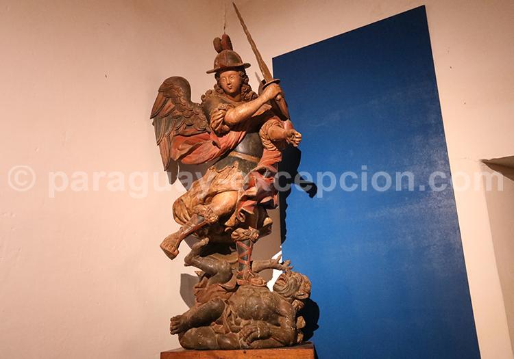 Collection d'oeuvres d'art religieux, Santa Maria de Fe, Paraguay