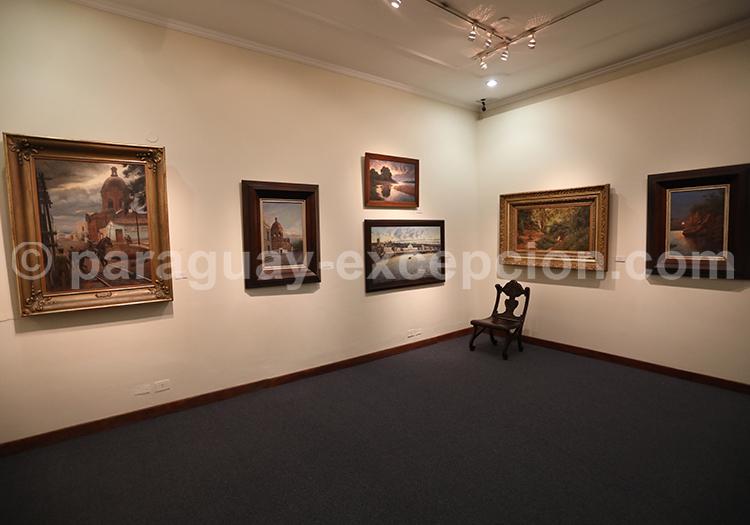 Musée des Beaux Arts Asuncion situé rue Eligio Ayala, Asunción