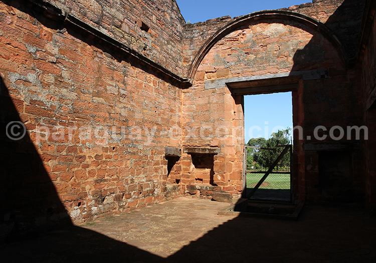 Ruines des missions jésuites en Argentine et au Paraguay