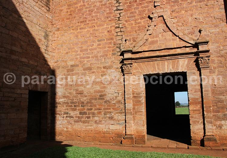 Jesús de Tavarangüé, missions jésuites, Paraguay