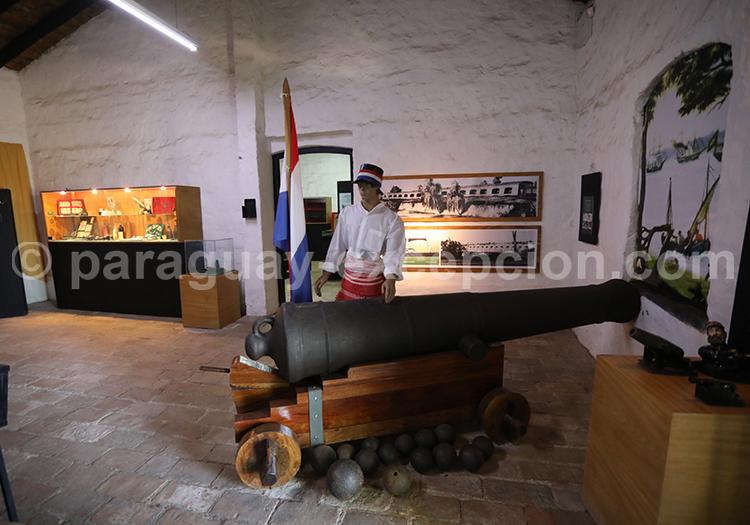 Canon de l'époque de la guerre contre la triple alliance, Yvy, Paraguay