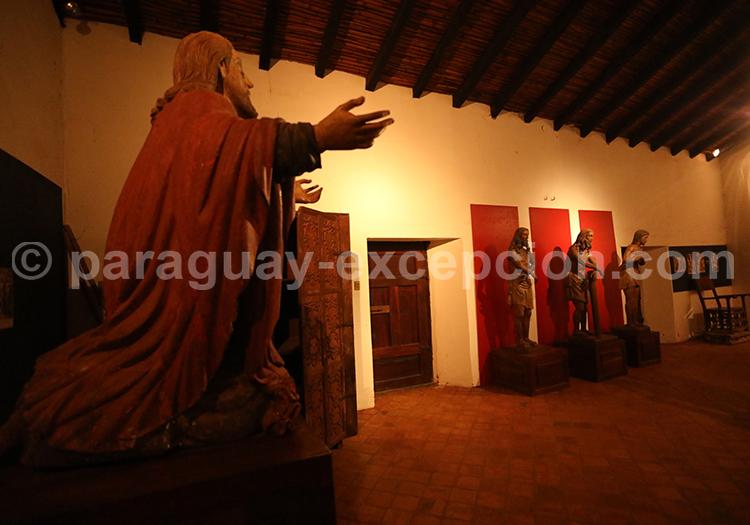 Découverte du musée de Santa Maria de Fe, Paraguay