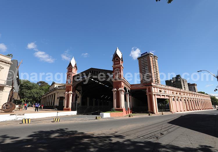 Gare férroviaire Asuncion du Paraguay