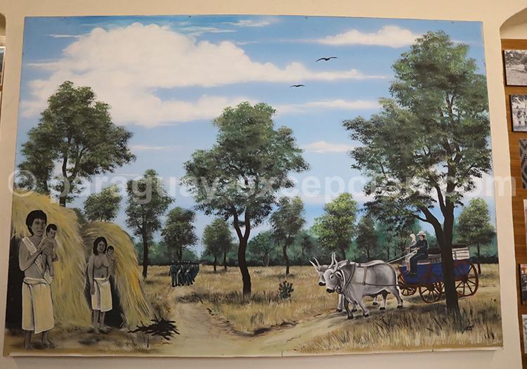 Rencontre indigènes et colons Musée de Filadelfia