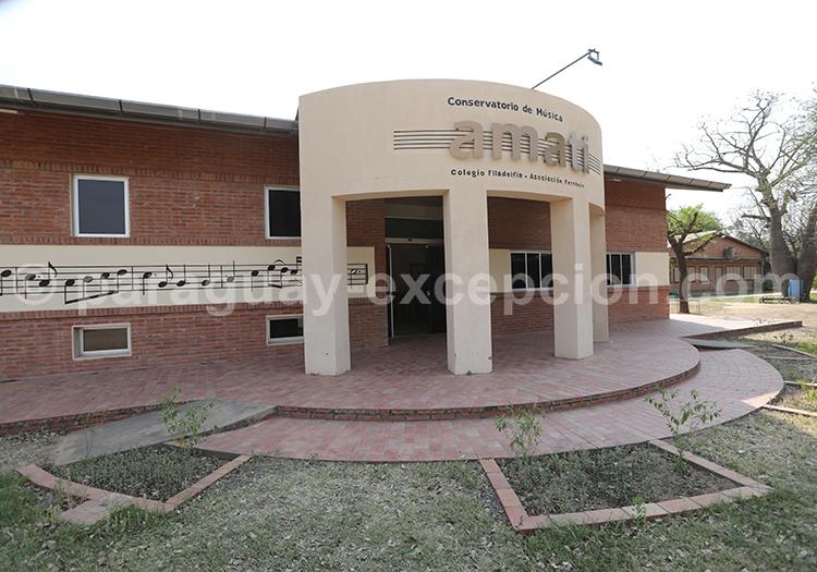 Conservatoire de Musique de Filadelfia, Paraguay