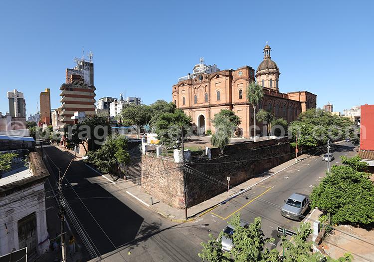 Eglise de la Encarnación, Centre historique d'Asunción, Paraguay