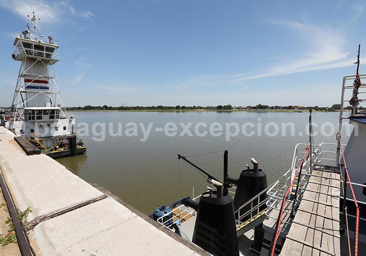 Ville portuaire, Asunción capitale du Paraguay