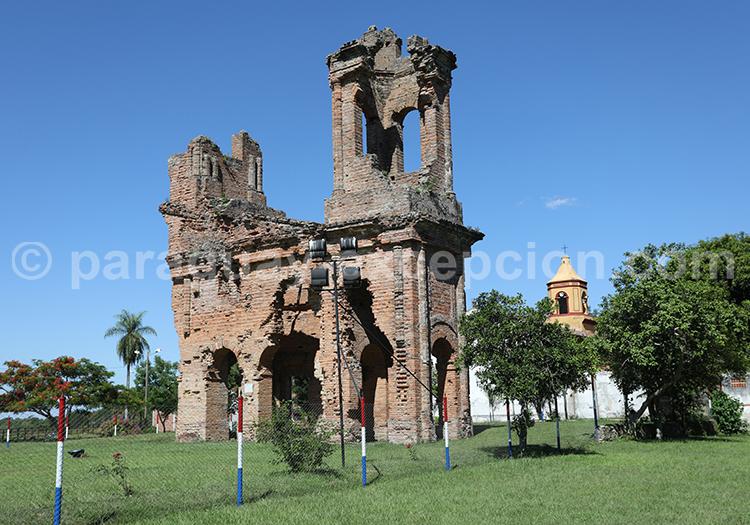 Ruines de l'église jésuite San Carlos Borromeo, Yvy, Paraguay