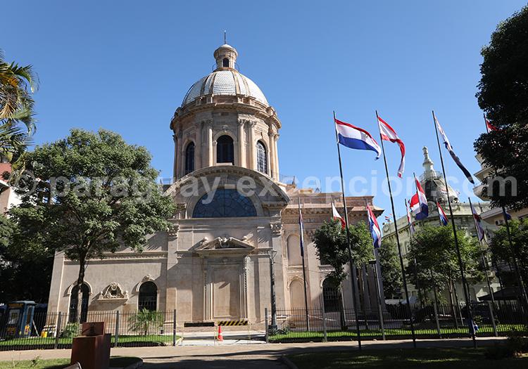 Néo classicisme, Panthéon, d'Asuncion, Paraguay