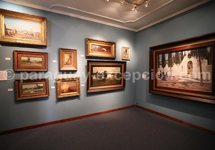 Oeuvres musée des Beaux Arts d'Asuncion