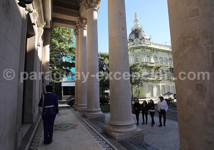 Panthéon, d'Asuncion rue Chile, Asunción, Paraguay